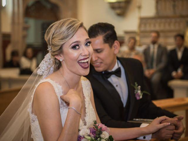 La boda de Eduardo y Elizabeth en León, Guanajuato 24
