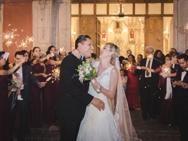 La boda de Eduardo y Elizabeth en León, Guanajuato 26