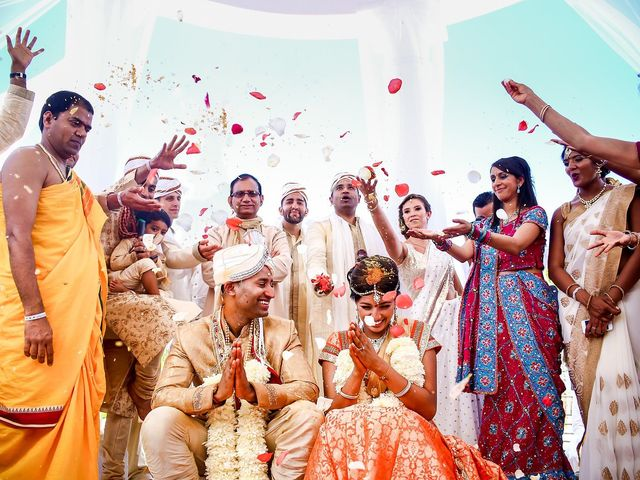 La boda de Veena y Kiran