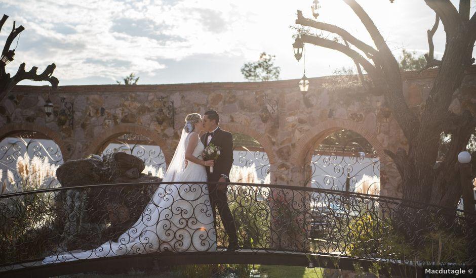 La boda de Eduardo y Elizabeth en León, Guanajuato