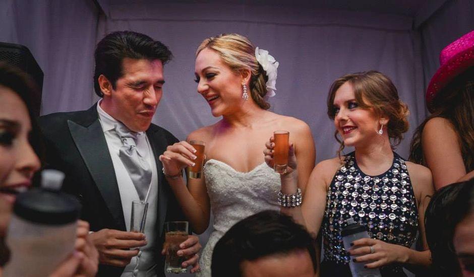 La boda de Óscar y Alejandra en Zapopan, Jalisco