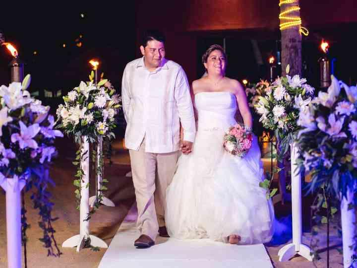 La boda de Pamela y Omar