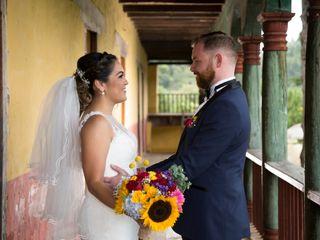 La boda de Eliza y Michael