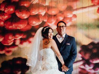 La boda de Daniela  y Rodolfo  1