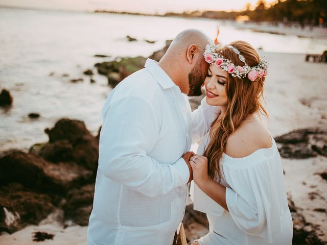 La boda de Mauricio y Paulina en Playa del Carmen, Quintana Roo 1