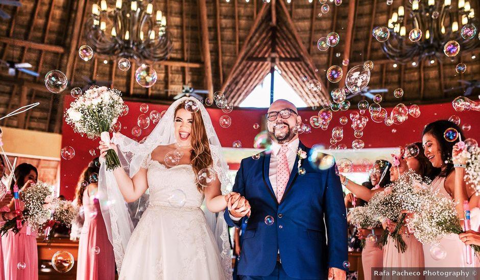 La boda de Mauricio y Paulina en Playa del Carmen, Quintana Roo