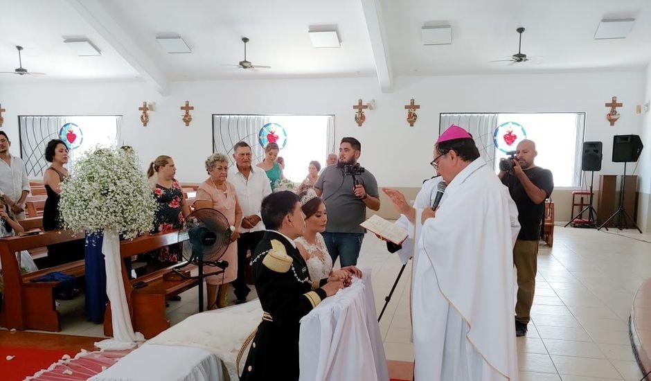 La boda de Raúl  y Claudia Ivett  en Isla Mujeres, Quintana Roo