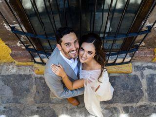 La boda de Valeria y Adrián