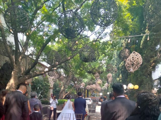 La boda de Daniel Valentín  y Julia Erandy  en Coacalco, Estado México 6