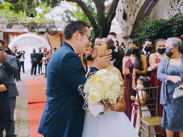 La boda de Daniel Valentín  y Julia Erandy  en Coacalco, Estado México 2