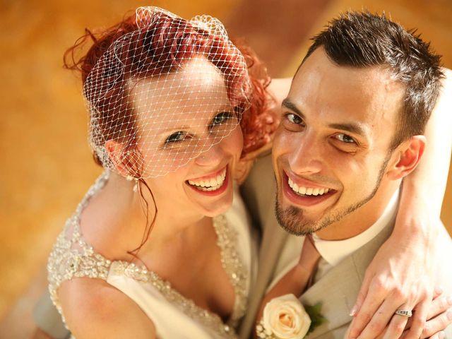La boda de Sa'día y Andrew