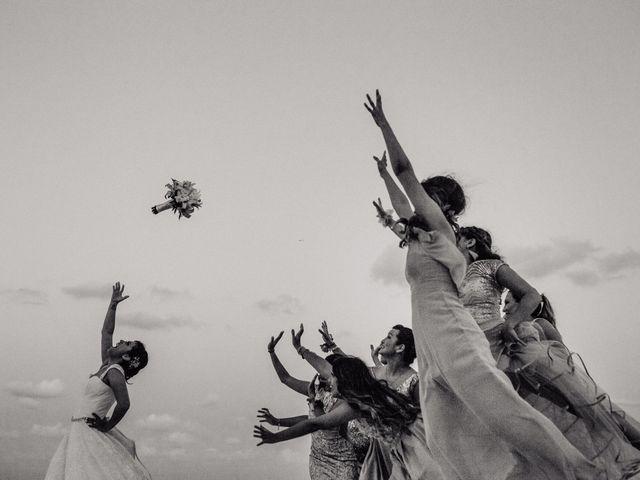 La boda de Miguel  y Lizzy en Cancún, Quintana Roo 3