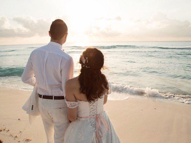 La boda de Miguel  y Lizzy en Cancún, Quintana Roo 5