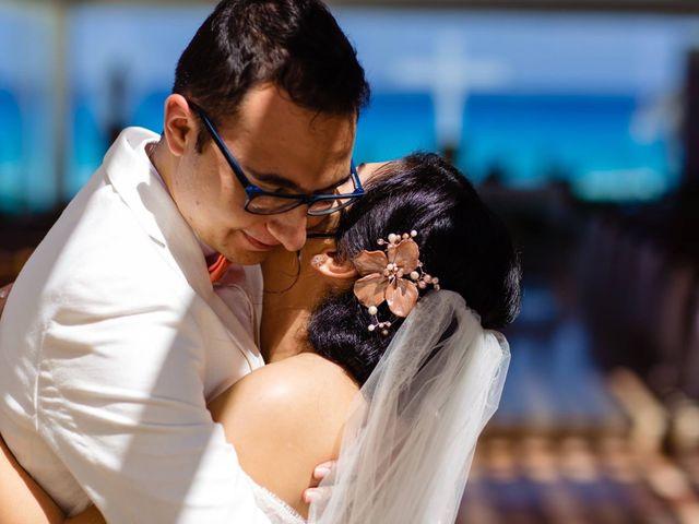 La boda de Miguel  y Lizzy en Cancún, Quintana Roo 6
