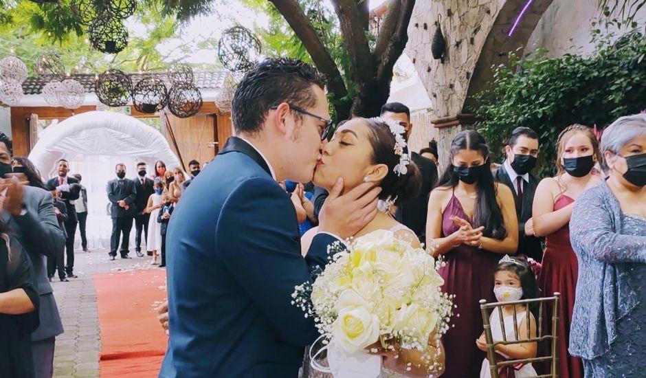 La boda de Daniel Valentín  y Julia Erandy  en Coacalco, Estado México