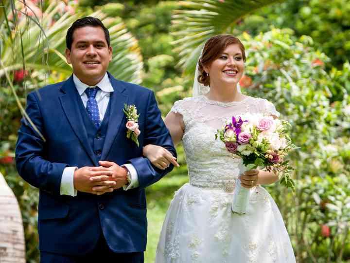 La boda de Valeria y Gustavo