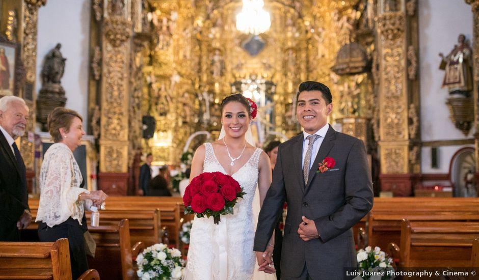 La boda de Alejandro y Sandra en Tlaxcala, Tlaxcala
