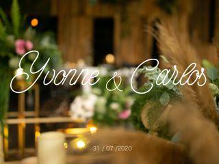 La boda de Yvonne y Carlos 1