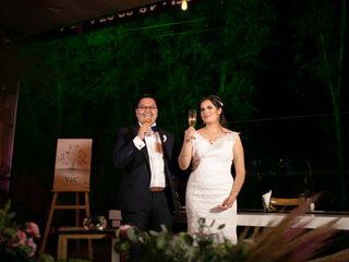 La boda de Yvonne y Carlos
