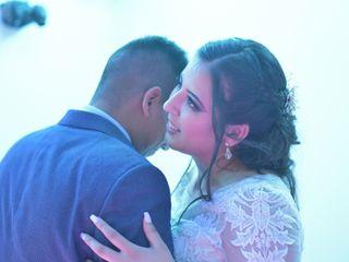 La boda de Stephanie Vera Sánchez y Aaron Ramos Rodriguez 1
