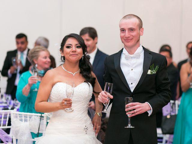 La boda de Hortensia y Mathieu