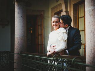 La boda de Claire Hélène Béartrice y Jorge