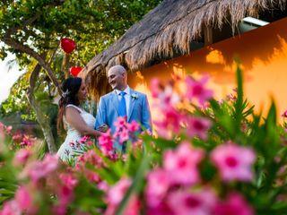 La boda de Stephanie y Arthur 1