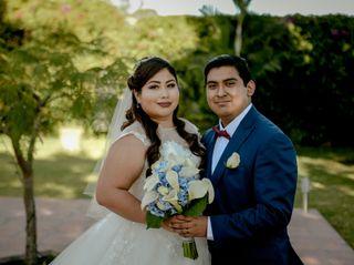 La boda de Nadia y Valde
