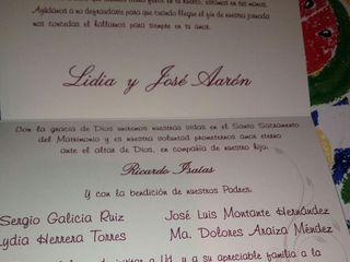 La boda de Lidia y Jose Aaron 1