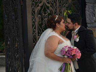 La boda de Mina y Alan