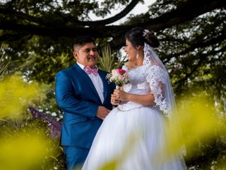 La boda de Perla y Rene