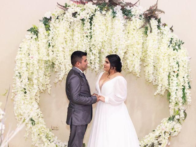 La boda de Adrián y Cindy