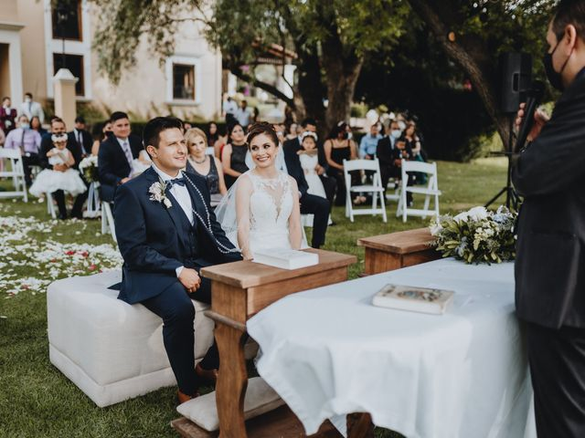 La boda de Eduardo y Patricia en Tequisquiapan, Querétaro 39