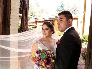 La boda de Daniela y Víctor