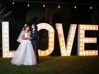 La boda de Alonso y Alejandra