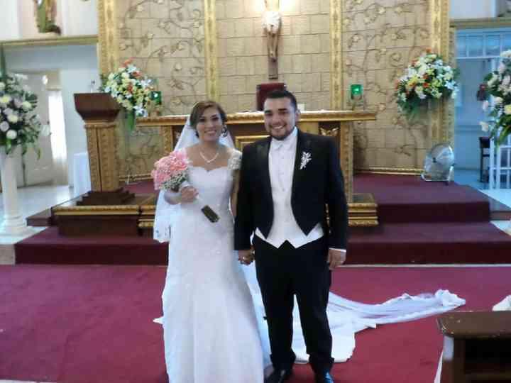 La boda de Marlen y Cristhian