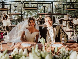 La boda de Getsemany y Joshua
