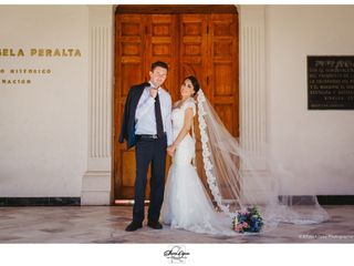 La boda de Rosalía y Jeffrey Robert 1