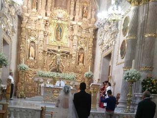 La boda de Berenice  y Martín  1