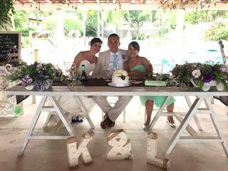 La boda de Kristen  y Luis Carlos  1