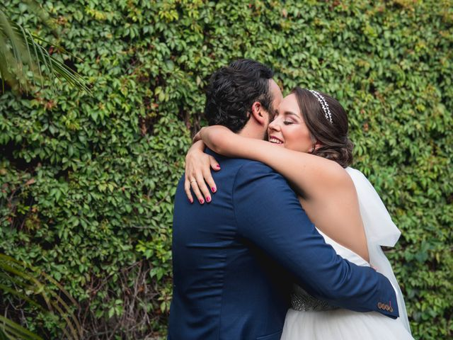 La boda de Sergio y Alejandra en Jiutepec, Morelos 1