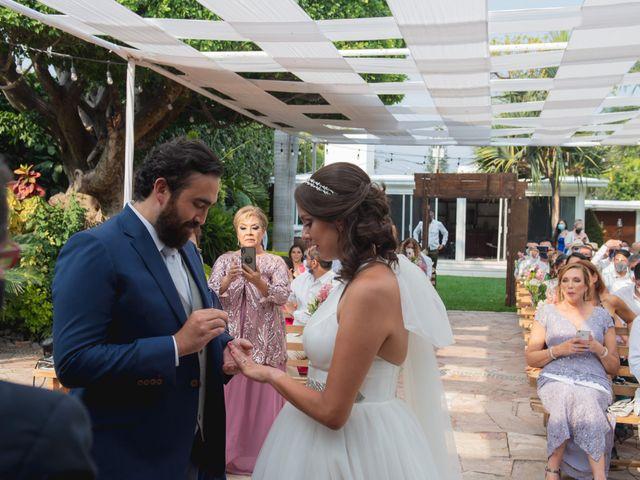 La boda de Sergio y Alejandra en Jiutepec, Morelos 36