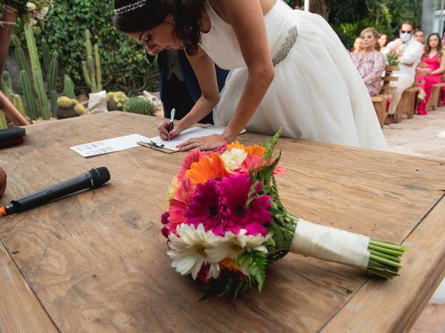 La boda de Sergio y Alejandra en Jiutepec, Morelos 37