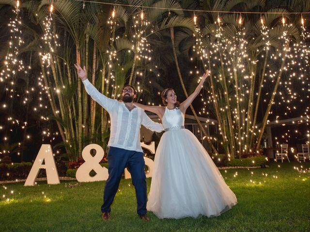 La boda de Sergio y Alejandra en Jiutepec, Morelos 67