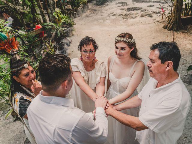 La boda de Luis y Bere en Puerto Morelos, Quintana Roo 1