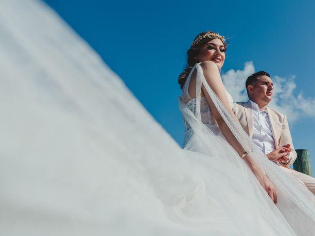 La boda de Luis y Bere en Puerto Morelos, Quintana Roo 3