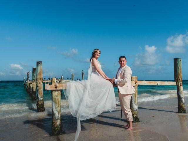 La boda de Luis y Bere en Puerto Morelos, Quintana Roo 4