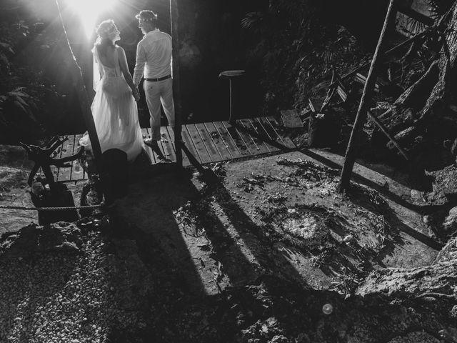 La boda de Luis y Bere en Puerto Morelos, Quintana Roo 6