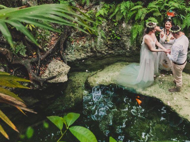 La boda de Luis y Bere en Puerto Morelos, Quintana Roo 2