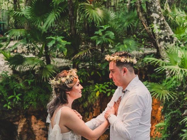 La boda de Luis y Bere en Puerto Morelos, Quintana Roo 8
